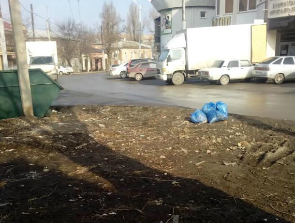На улице Чехова в Таганроге  завелся «вредитель чистоты»