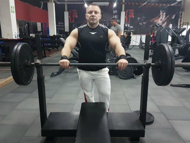 Новый рекорд  установлен на фестивале силовых видов спорта  в Таганроге