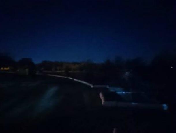 Репортаж из покрытого мраком   таганрогского парка
