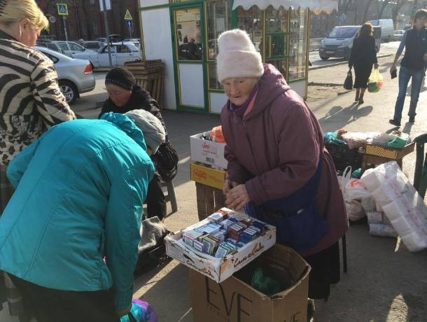В Таганроге снова расцвела нелегальная продажа сигарет