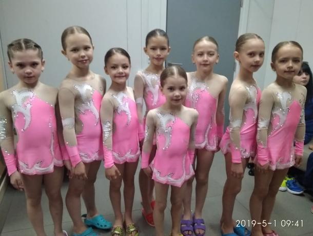 Таганрогские детишки отлично станцевали в Сочи