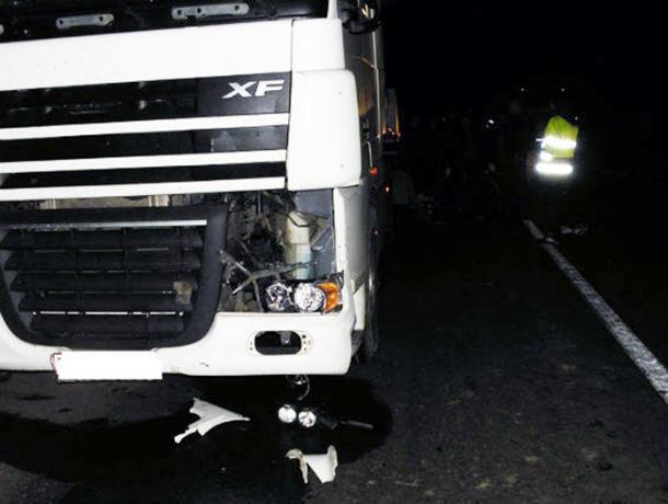ВРостовской области 22-летний шофёр большегруза насмерть сбил пешехода