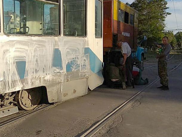 Очередной трамвай причинил страх таганрожцам