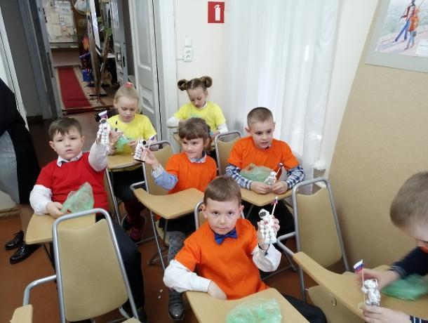 В музее писателя И.Д.Василенко в Таганроге прошли мероприятия  в честь Дня космонавтики
