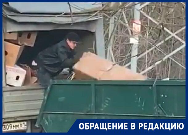 «Крутые дельцы» в Таганроге обманывают предпринимателей, обещая вывезти мусор на свалку