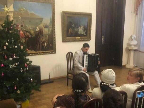 Знаменитый  аккордеонист дал концерт в Таганроге