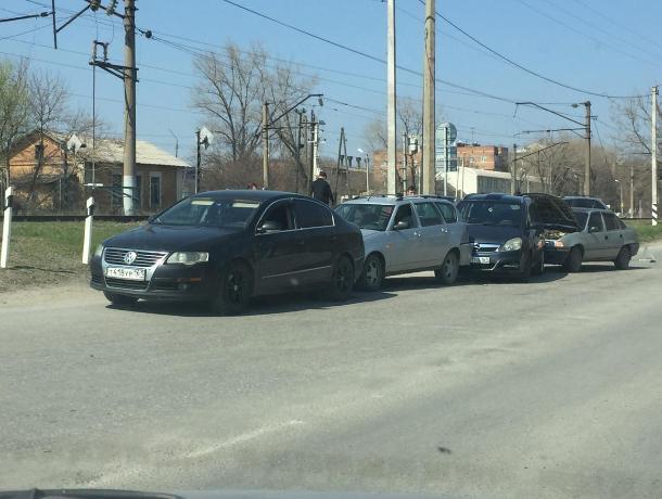 В Таганроге произошла авария