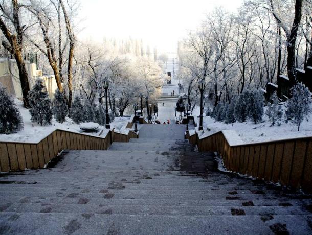 Погода в Таганроге на предстоящую неделю: дождь и снег не покинут нас