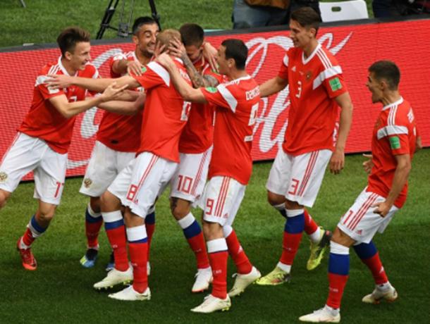 3:1! Россия  умеет играть в футбол!