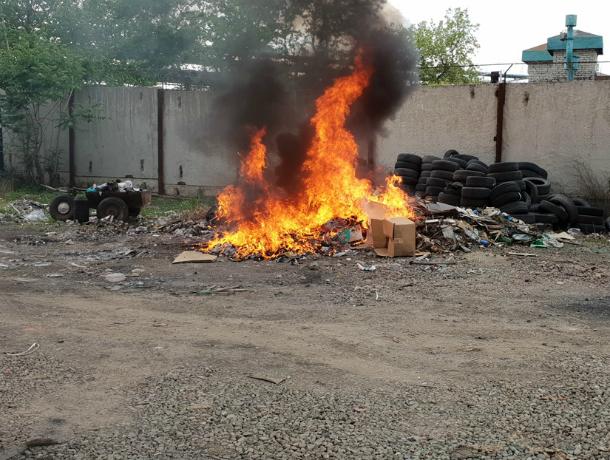 Костры и пожарища в Таганроге запрещены