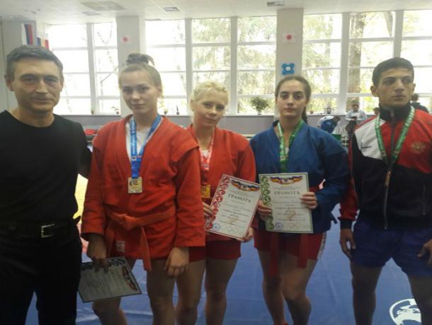 Самбисты из Таганрога завоевали четыре медали на областных соревнованиях