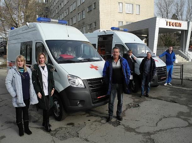 Два автомобиля для БСМП  выделили из области Таганрогу