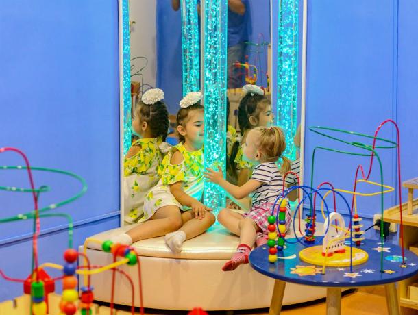 В Таганроге у детей детского сада №46 появилась сенсорная комната