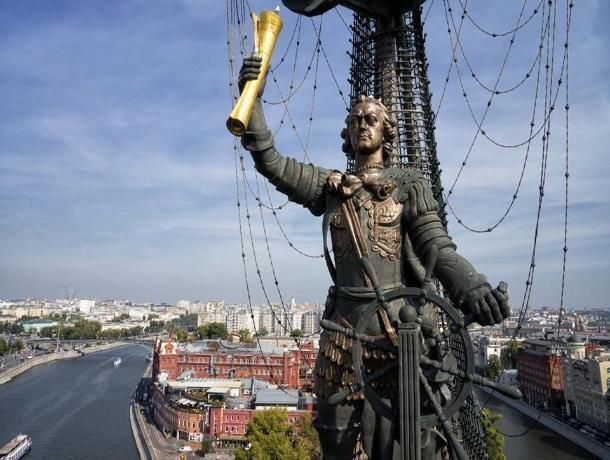 В Таганрогский залив предложили перенести московский памятник Петру I