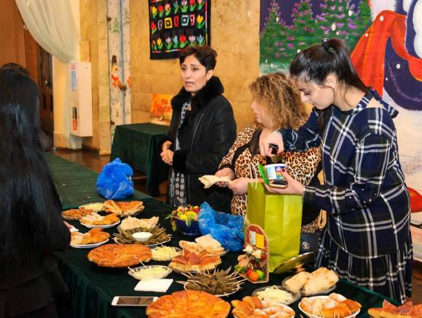 Представители семи диаспор провели «Кружева дружбы»  в Таганроге
