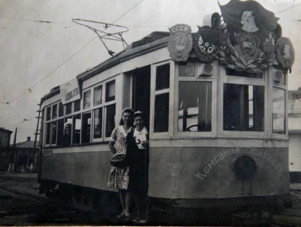 Горожанин поделился фотографиями таганрогских трамваев былых лет