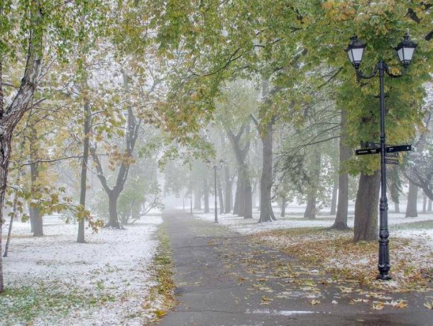 В Таганроге на предстоящей неделе выпадет первый  снег