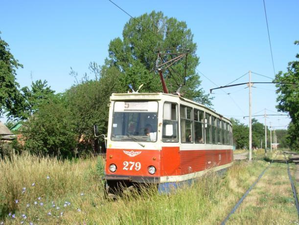 В Таганроге прекращено движение трех маршрутов трамваев