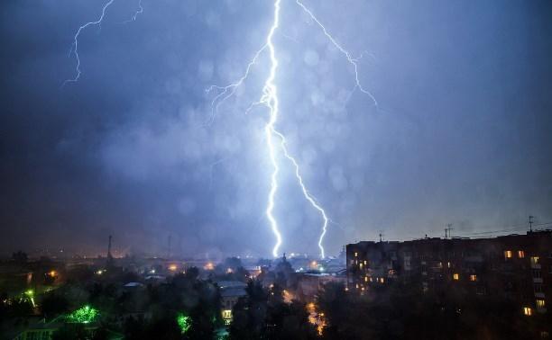 В среду и четверг в Таганроге будет дождь с грозой