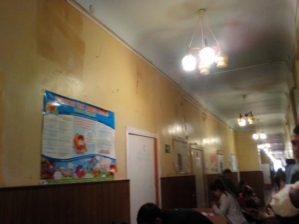 Ужасное состояние детской поликлиники возмутило таганрожца