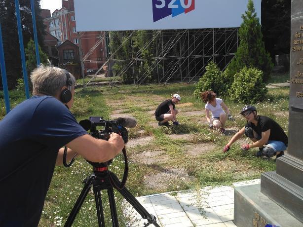 Якорец Таганрога, прославленный «Блокнотом», заслужил внимание центрального телевидения