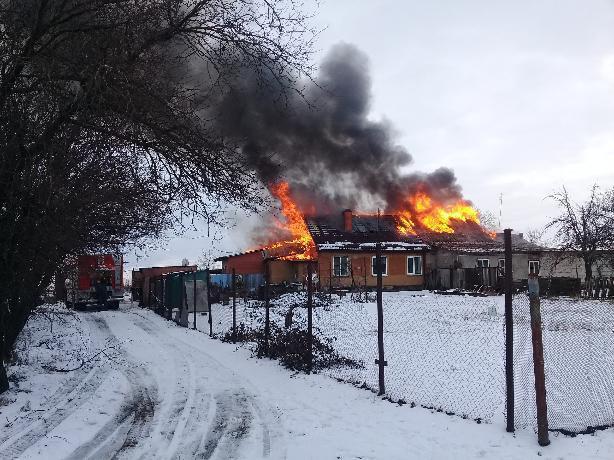 Огонь оставил четыре семьи без крыши над головой в Таганроге
