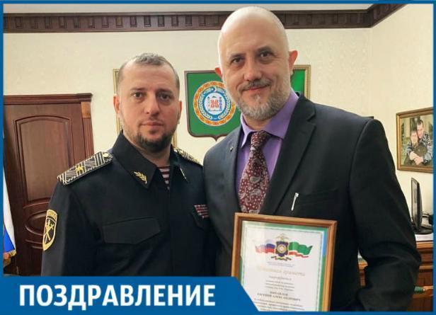 Сегодня День рождения и получение награды празднует журналист Евгений Михайлов