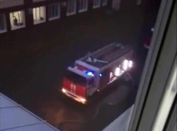 В БСМП Таганрога из-за пожара эвакуировали людей