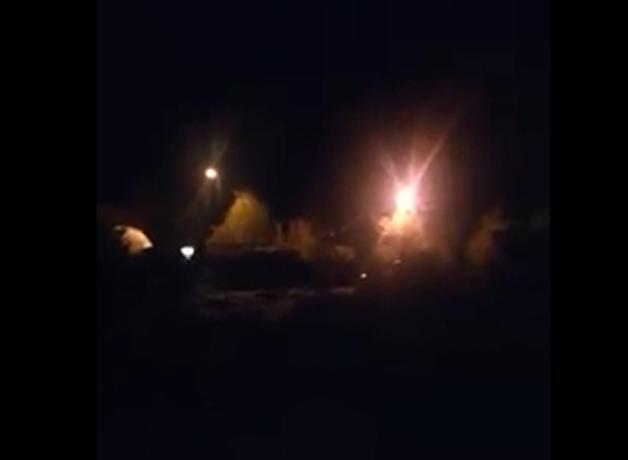 В парке им. 300-летия Таганрога по-прежнему царит тьма