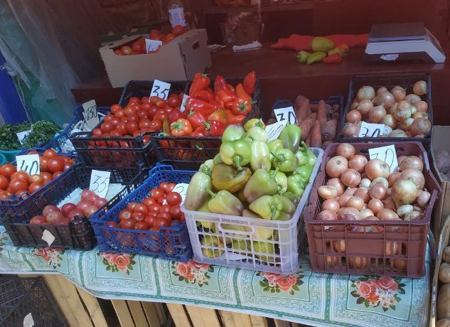 Овощная корзина увеличилась в цене в два раза в Таганроге