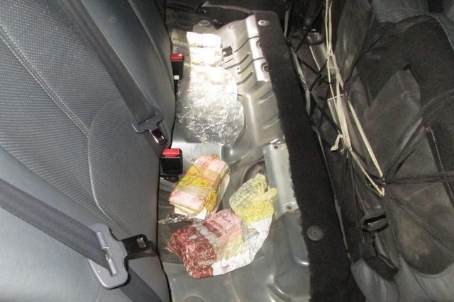 Под Таганрогом таможенники обнаружили контрабандные 70 тысяч долларов