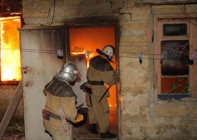 Ночью вКиреевском районе выгорел личный дом
