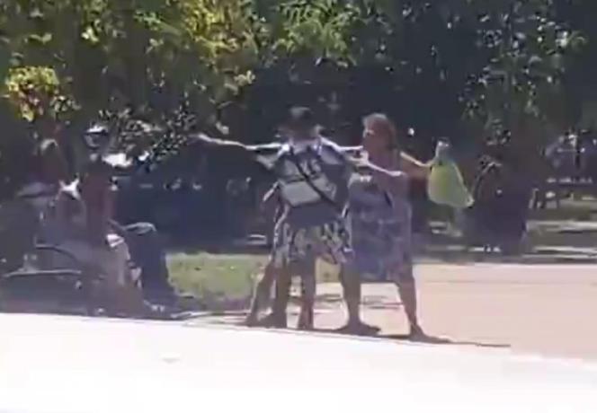 Красиво жить не запретишь: в Таганроге пенсионерка зажгла с двумя молодыми людьми
