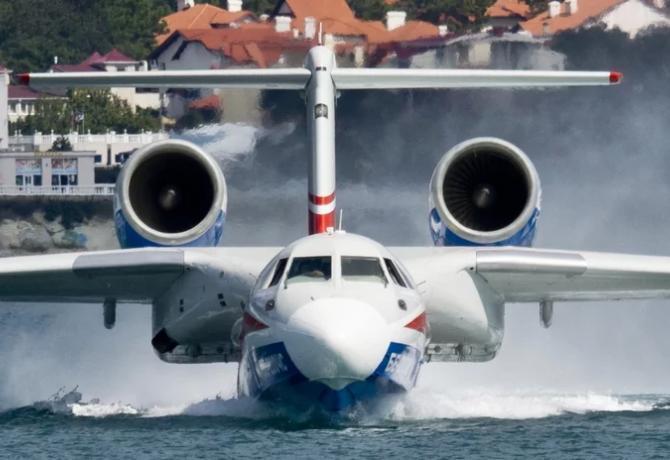 ТАНТК им. Бериева начнет серийное производство Бе-200 с российско-французским двигателем