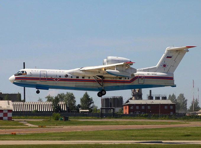 В Брянске приземлились  таганрогские самолеты-амфибии