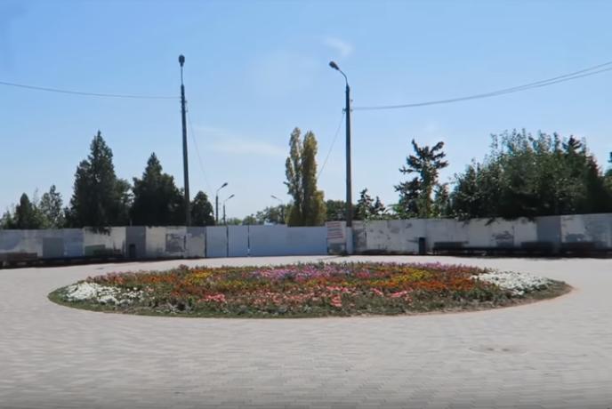 За преображением Приморского парка проследил таганрожец