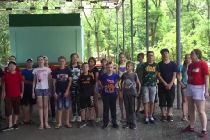 Юные таганрожцы попросили сборную России забить «побольше голов»