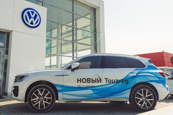 Обновленный  Volkswagen Touareg торжественно презентовал официальный  дилерский центр Volkswagen «Гедон-Юг»