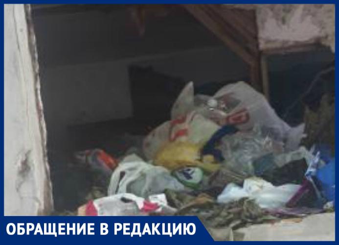 В Таганроге некому снести развалившиеся и расселенные  дома