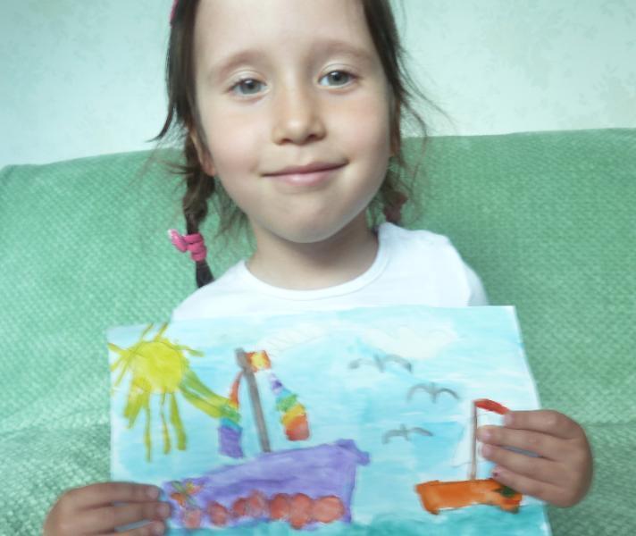 Арина Данилова хочет летом научиться плавать