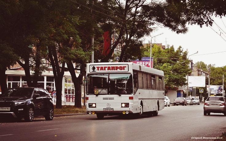 Устаревший таганрогский транспорт душит жителей ядовитыми выхлопными газами