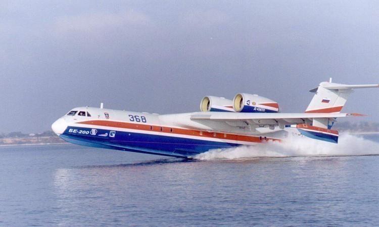 США и Франция закупят в Таганроге самолеты Бе-200