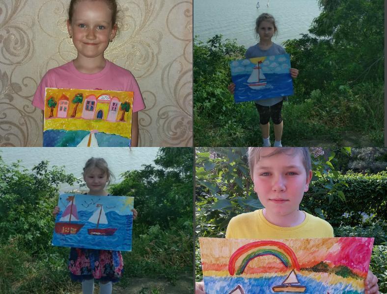 Юные таганрогские художники продолжают радовать читателей «Блокнота» своими работами