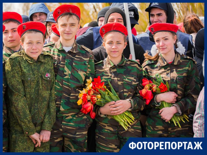 Под Таганрогом на экскурсии по Миус-фронту дети вспоминали фильмы, песни и героев войны