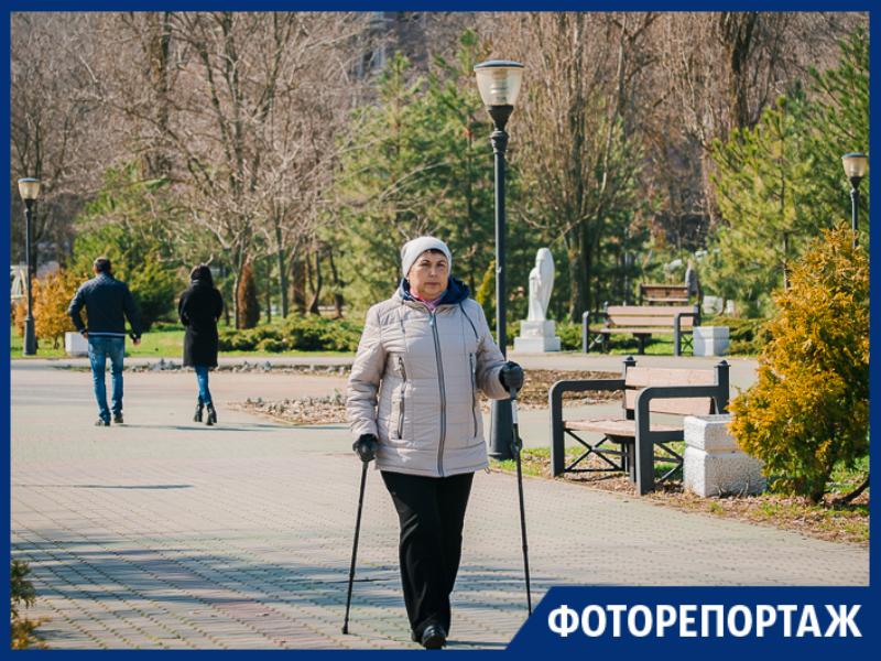 Весеннее дыхание на набережной Таганрога