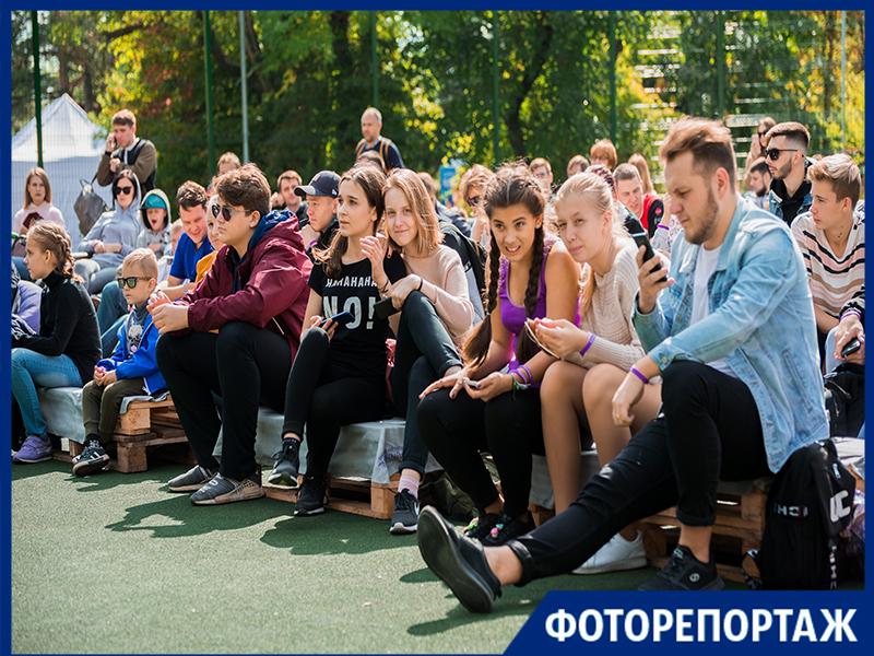 В Приморском парке Таганрога прошел первый  Brainfest