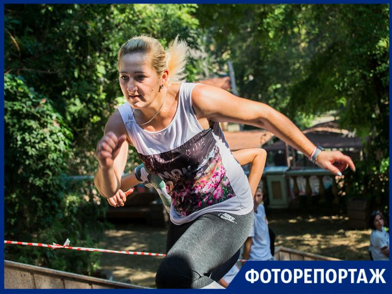 В День города таганрожцы выяснили, кто быстрее преодолеет «188 ступеней к Олимпу»