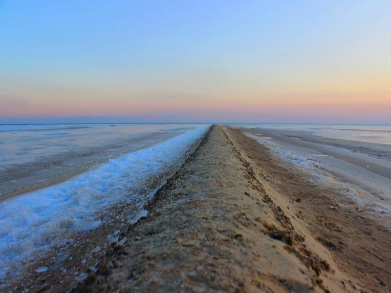 Удивительный момент: возвращение воды в Таганрогский залив