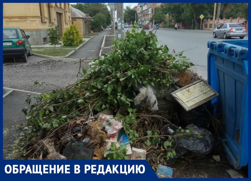 Жители обвинили территориальное управление в создании свалок в Таганроге