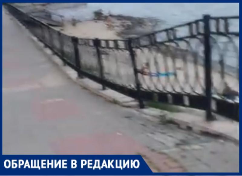 Новая набережная Таганрога опасна для жителей города